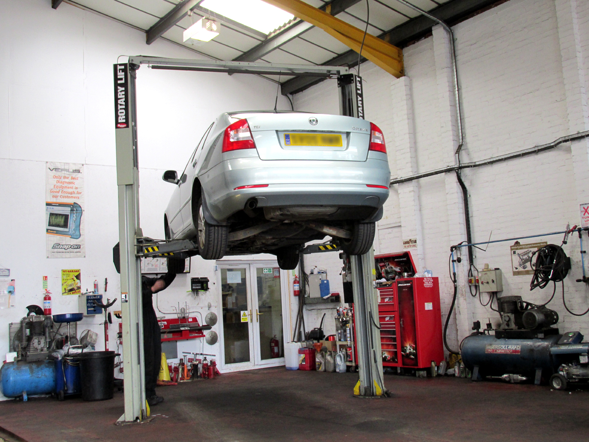 Garage Vehicle Services : The garage abbeymill paisley vehicle repairs services